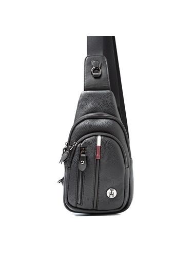 TH Bags Messenger / Askılı Çanta Siyah
